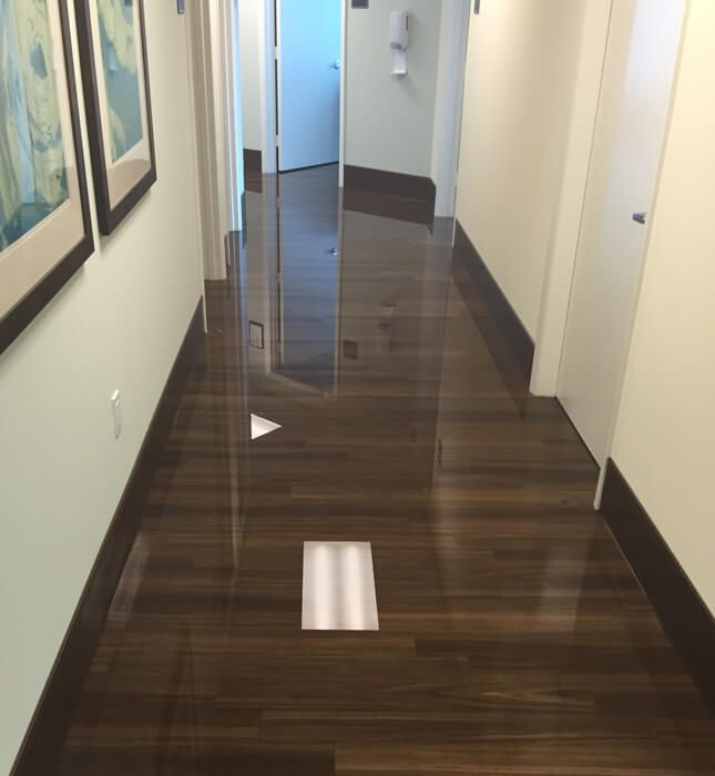 Water Damage Within Minutes